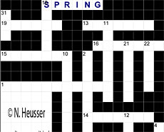 Beginner: Crossword © N. Heusser www.discoverenglish.de