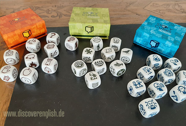 Meine Rorys Story Cubes